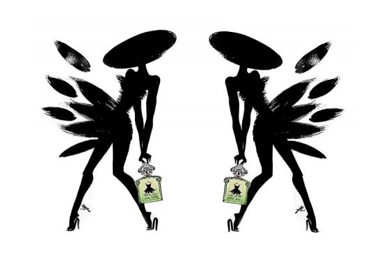 La petite robe noire petale