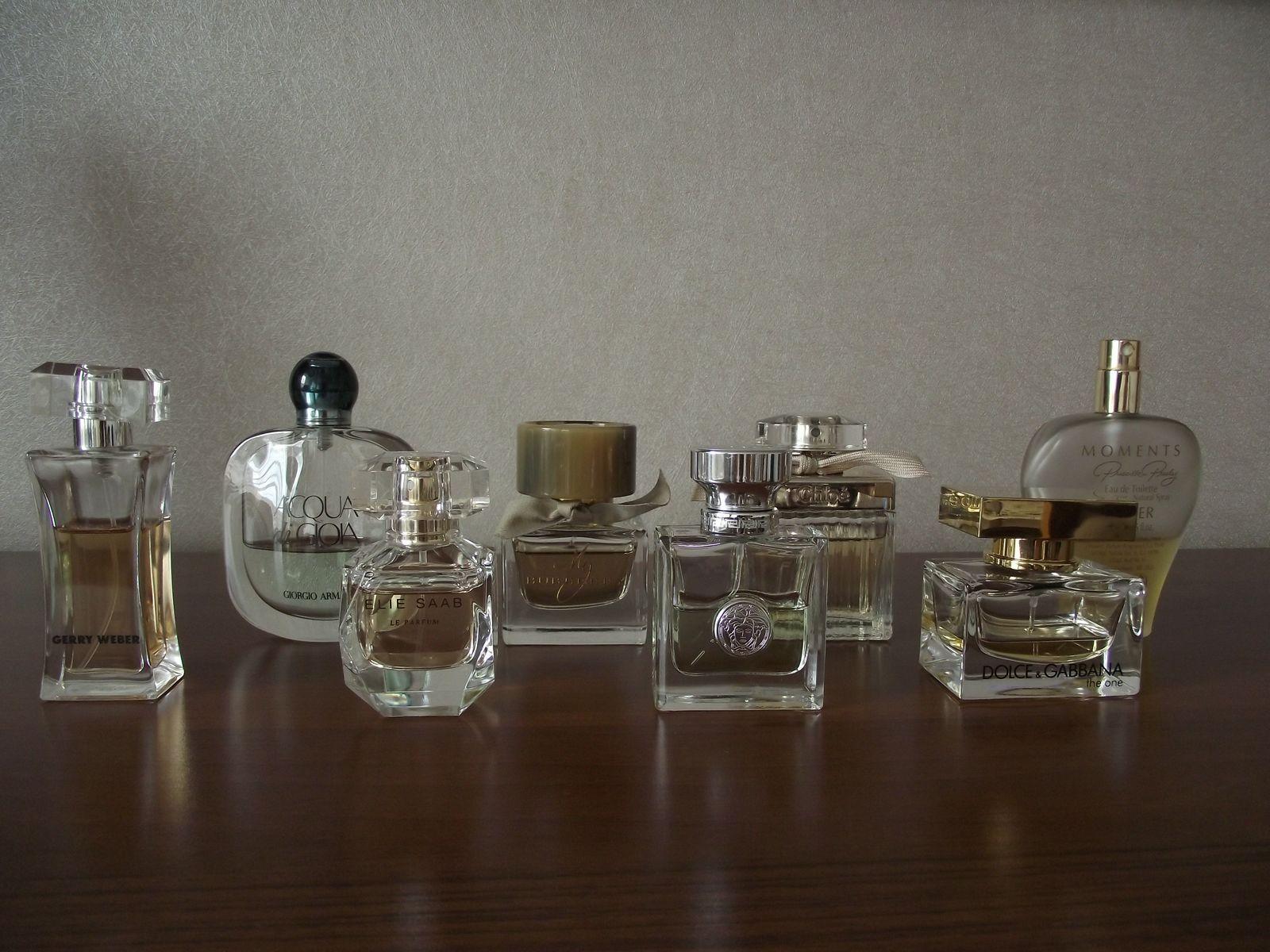Kolekcja perfum Sylwii 13