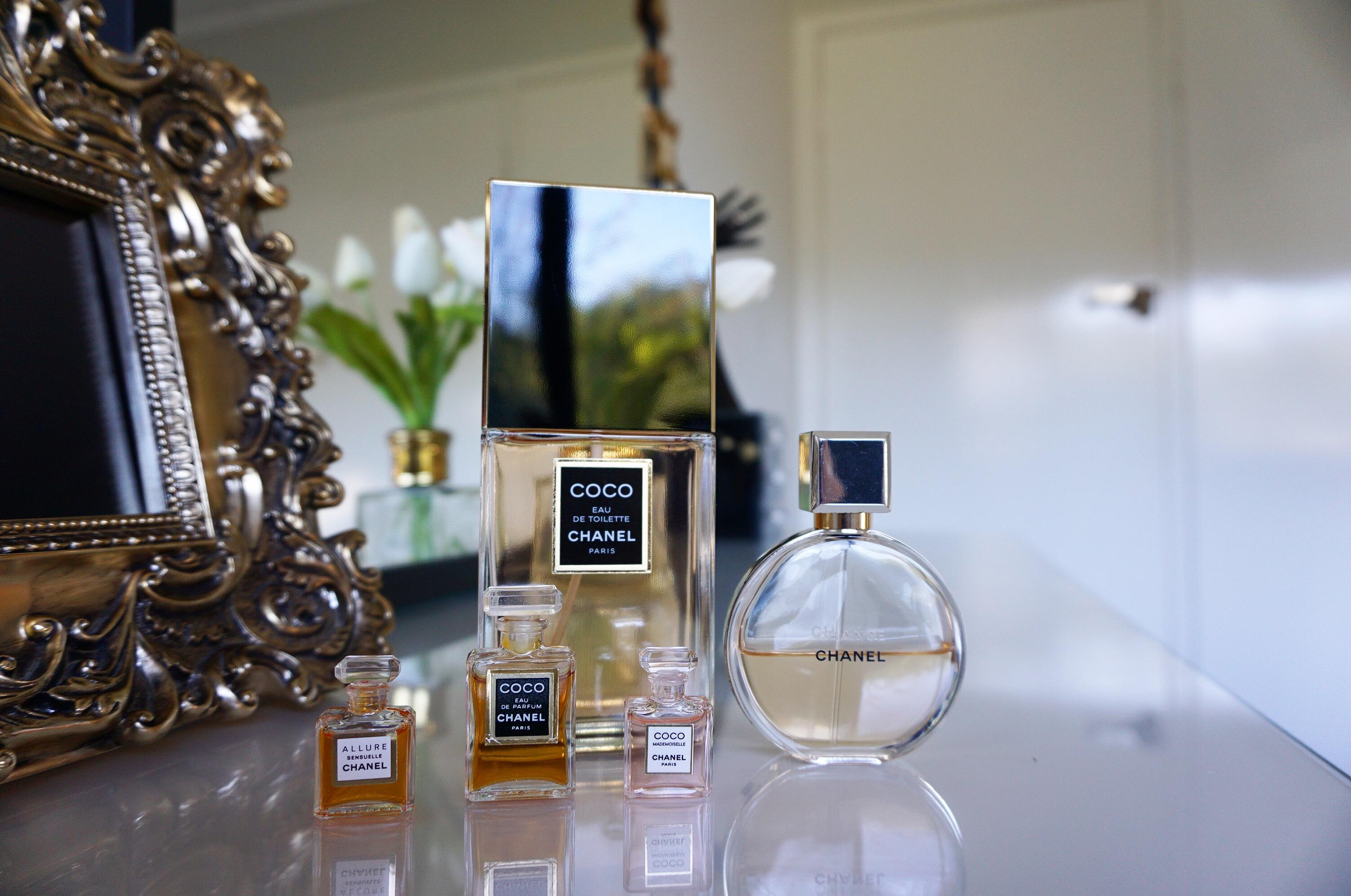 kolekcja perfum
