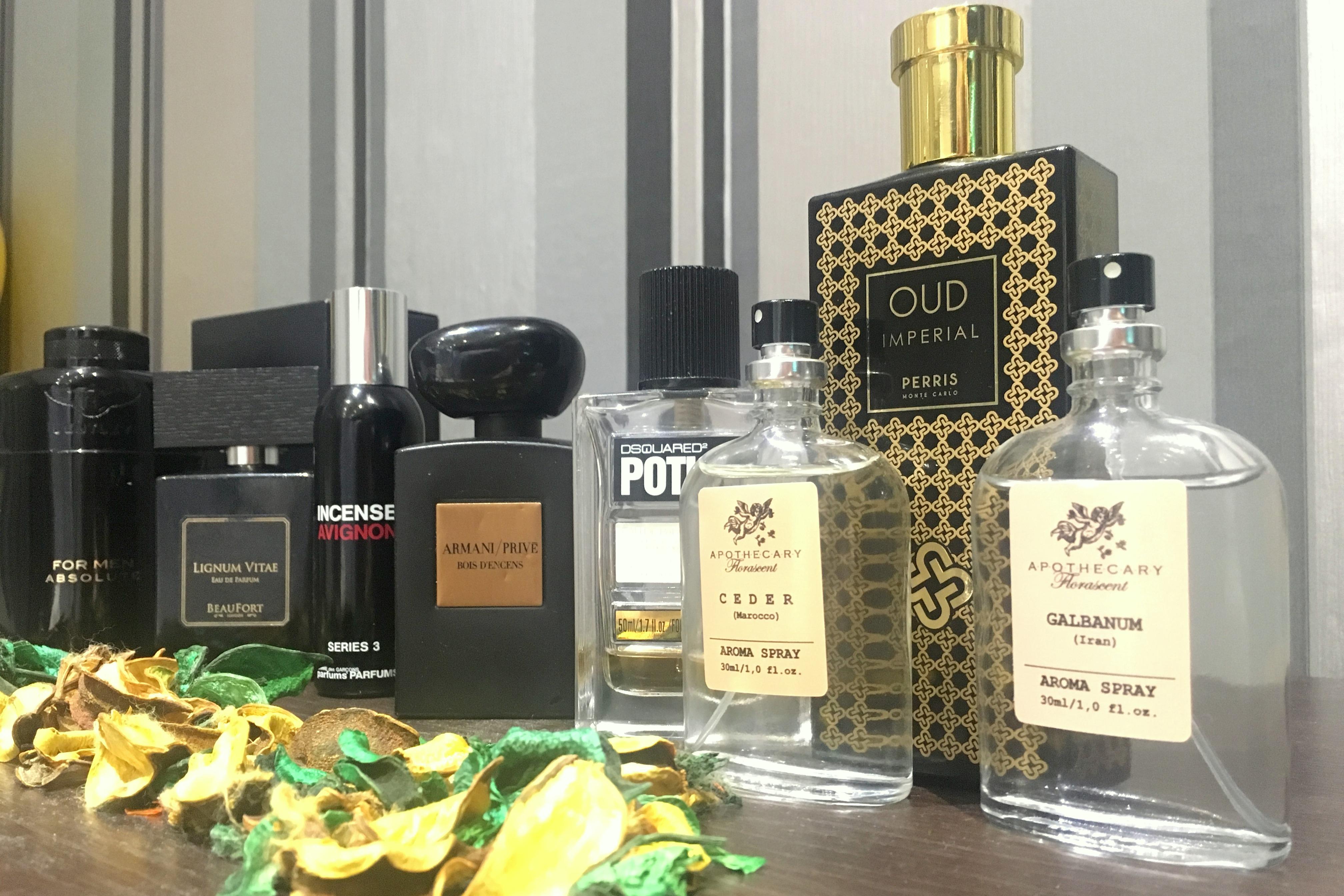 kolekcja perfum Kamila front