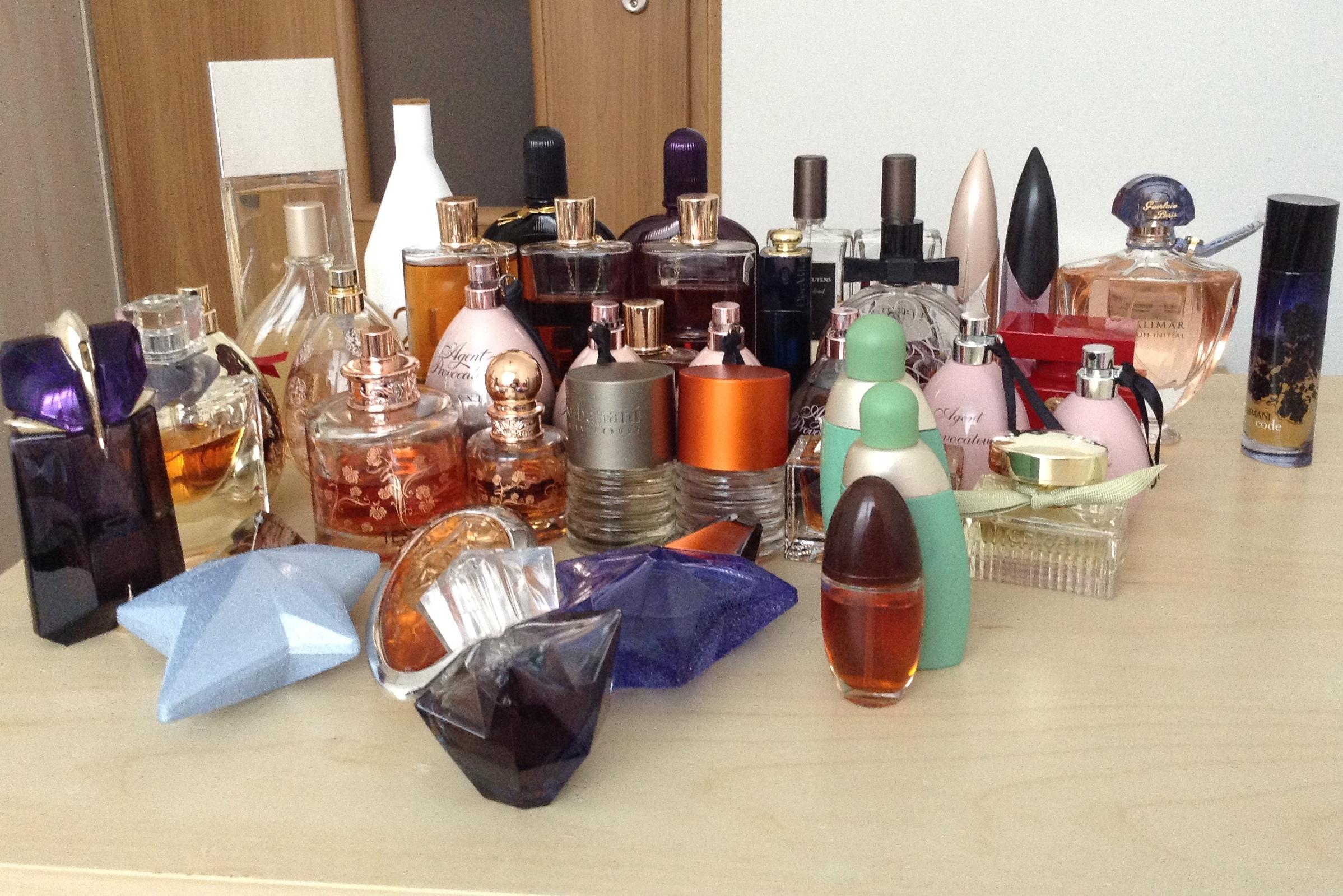 kolekcja perfum Asi
