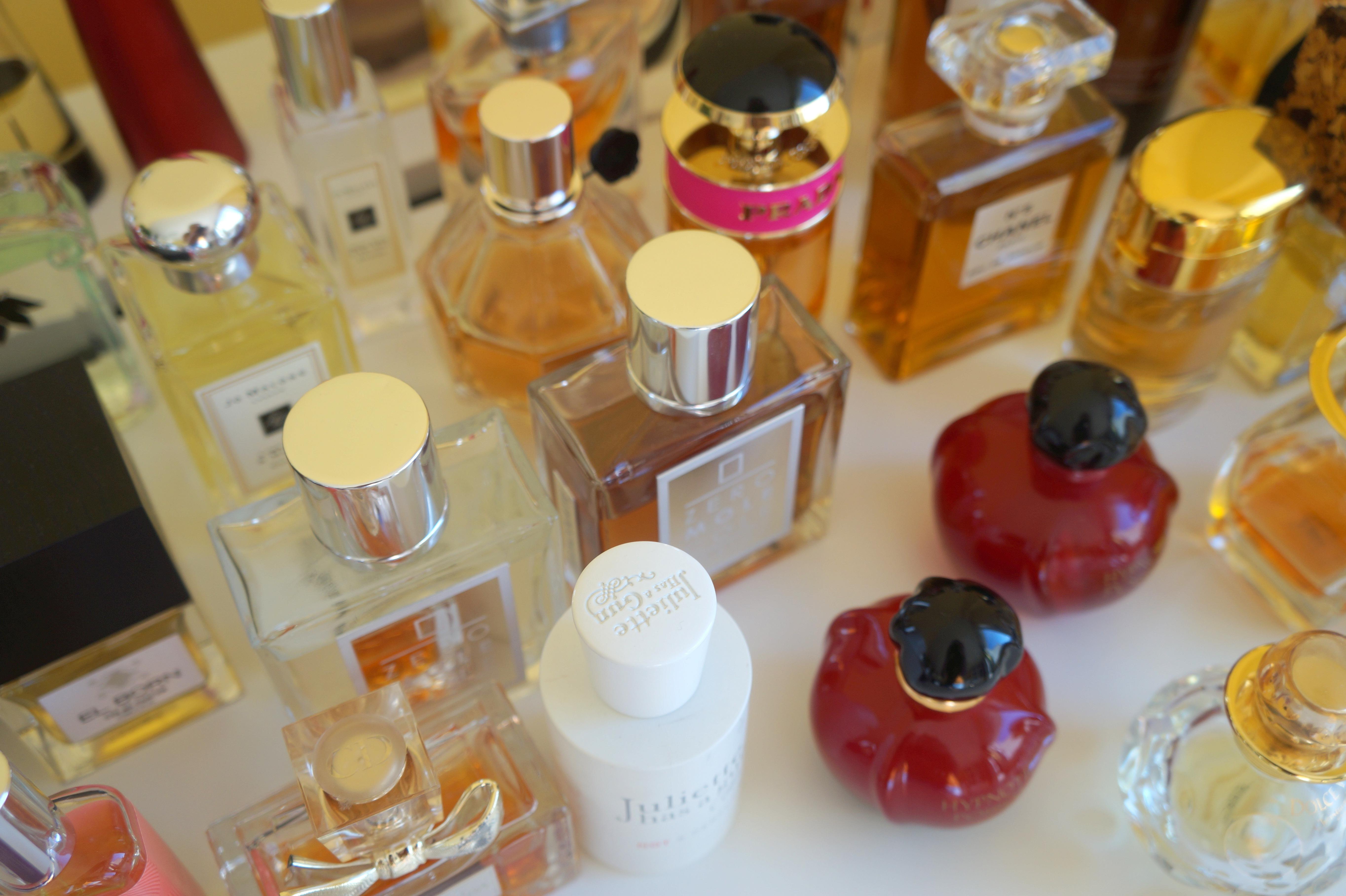 Moja kolekcja perfum front